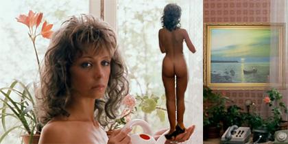"""Личная секретарша в персональном кабинете (кадр из фильма """"Город Зерро"""")."""
