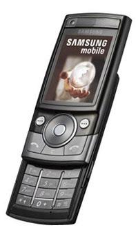 Мобильный телефон Samsung SGH G600, Ebony Black Samsung Electronics